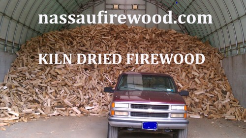 KILN DRIED Firewood for delivery to Woodbury, NY