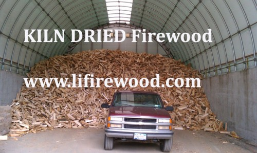 KILN DRIED Firewood for delivery to Setauket, NY