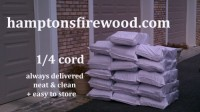 Firewood bags delivered to Sag Harbor, NY