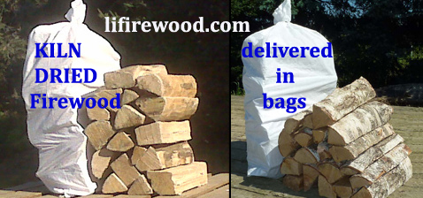 L.I. Firewood delivers Long Island KILN DRIED Firewood