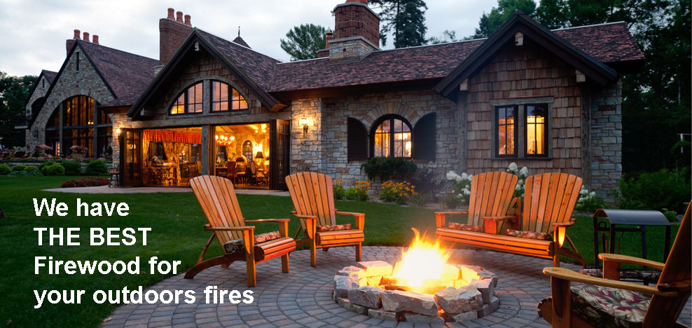We have THE BEST Firewood for outdoor fires.
