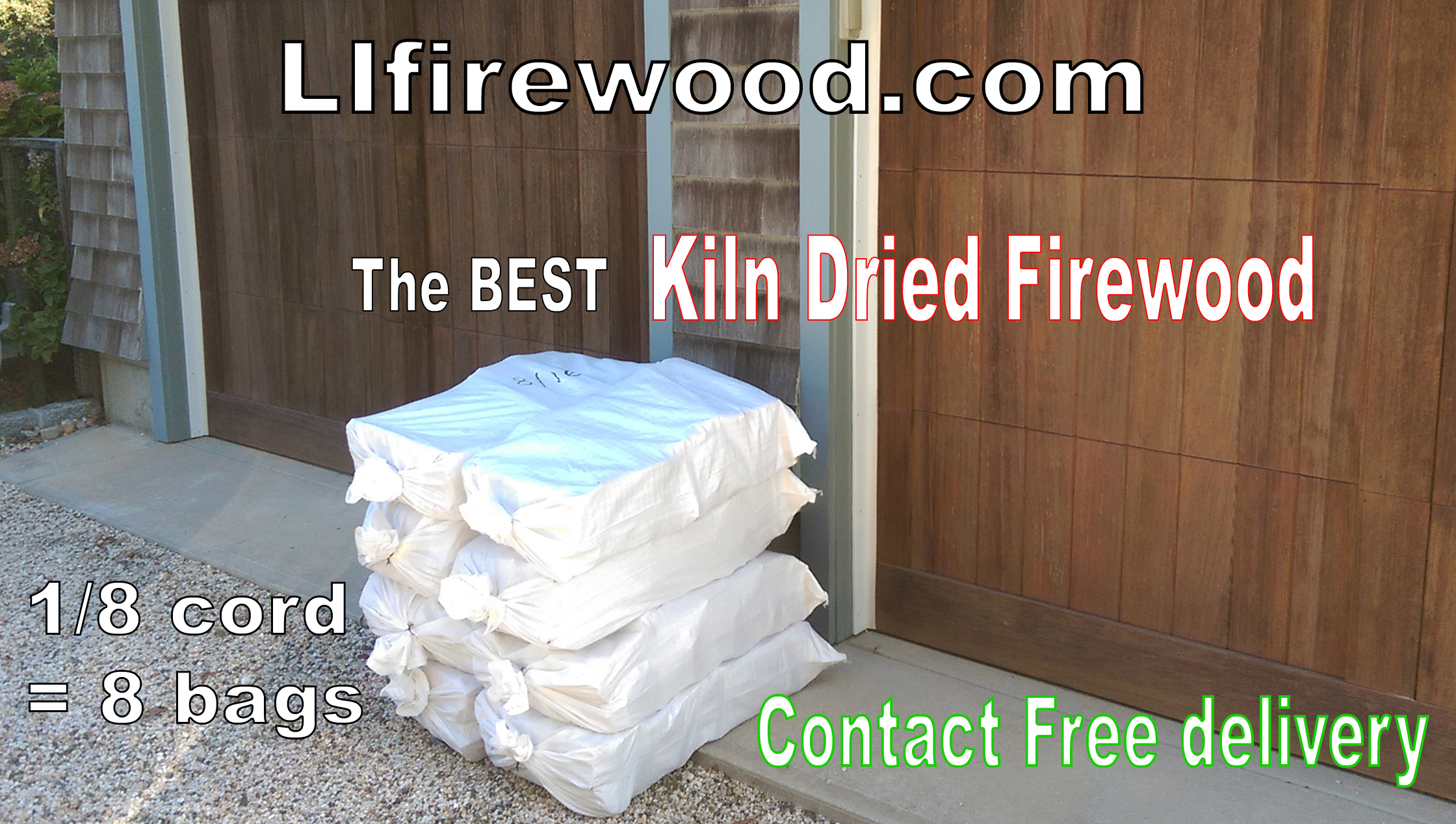 Firewood delivered to Central & Western Suffolk County, NY