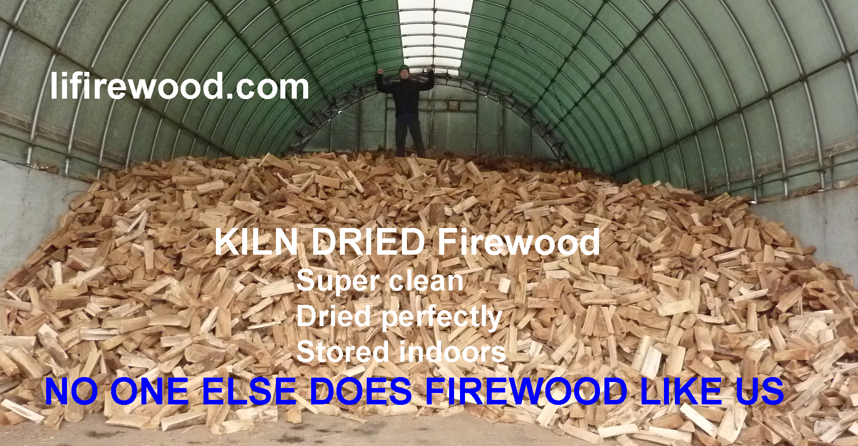 We're firewood experts